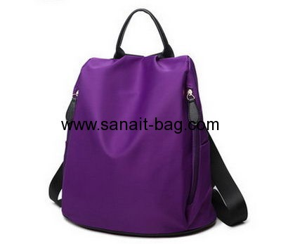 Backpack factory customize cheap school bags nylon backpack WB-153