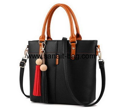 Handbag suppliers customize large polyurethane handbags WT-352