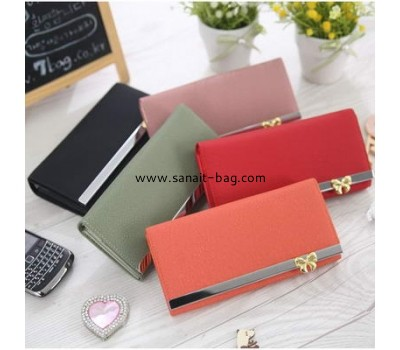 New fashion design PU leather wallet for women WW-001