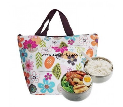 Oxford cloth 600D + cotton + aluminium foil Insulated lunch bag CL-002
