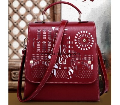 Fashion women PU tote bag with shoulder strap WT-011