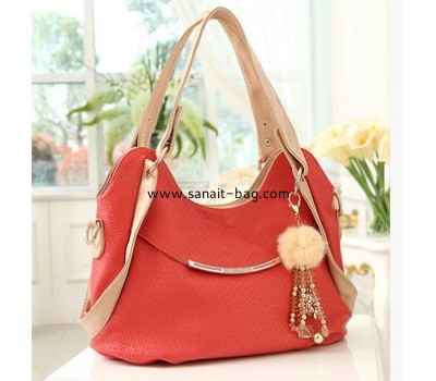 Ladies embossing PU tote bag WT-014
