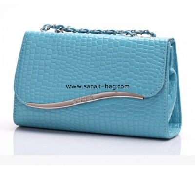 Fashion embossing PU leather women messenger bag WM-009