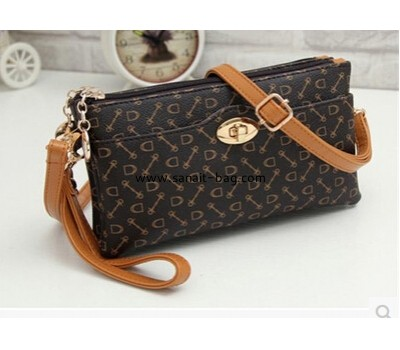 Middle-aged top selling PU messenger handbag WM-014