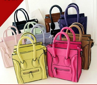 fashion ladies pu handbags ,wholesale bag China Guangzhou manufacture  WT-005