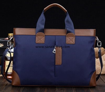 Men oxford canvas leisure business multifunction tote handbag MT-005