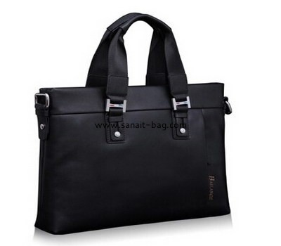 Men genuine leather leisure business handbag MT-006