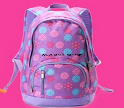 women embroidery oxford backpack WB-018