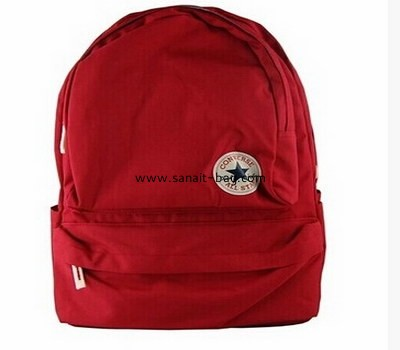 top sale Ladies canvas sports leisure backpack WB-025