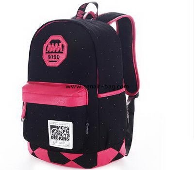 Men canvas travel high capacity backpack MB-019