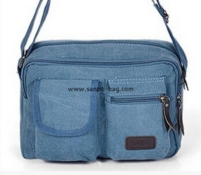 high quality men canvas leisure messenger bag MM-003