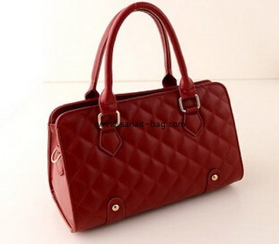 New style women diamond shape PU leather handbag WT-039