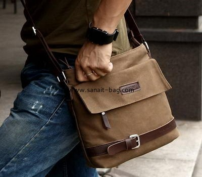 Top quality canvas messenger crossboday bag for men MM-001