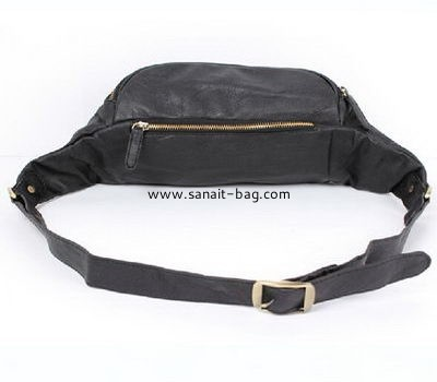 High quality man fashion PU leather waist bag for women MM-016