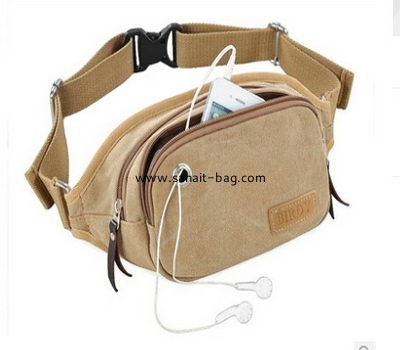 men leisure canvas waist bag MWB-005