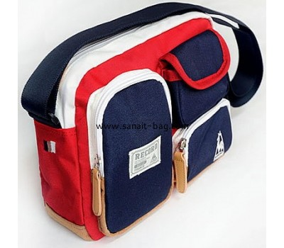 Canvas fashion design sports bag with shoulder strap for man SP-007
