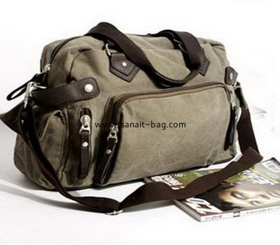 Canvas leisure handbag with large size wholesale LE-003