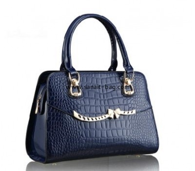 Europe and America trend style fashion crocodile PU handbag for woman WT-080