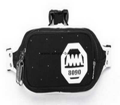 Top quality fashion design canvas waist bag for man MM-012