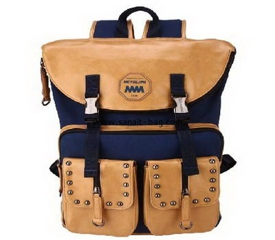 High quality canvas school bag for boys and girls WB-056