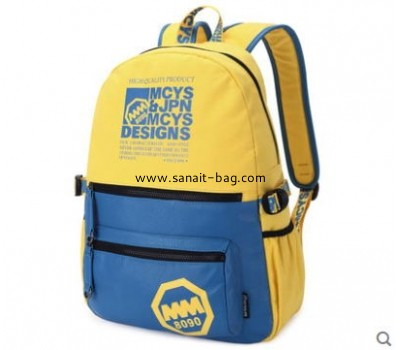 Top selling cavas school bag for girls and boys WB-059