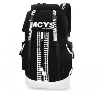 top selling canvas travel backpack with laptop bag for man MB-040