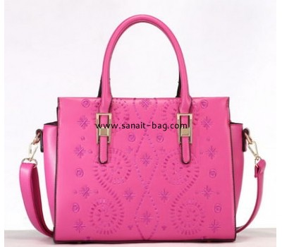 2015 fashion design embroidery PU leather handbag for women WT-114