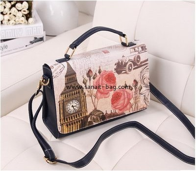 English style PU leather messenger bag for women WM-037