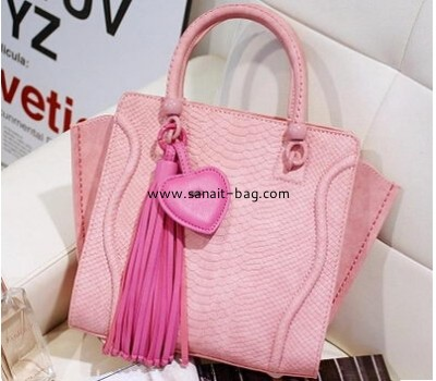 2015 spring and summer PU new retro classic cream color handbag for ladies WT-145