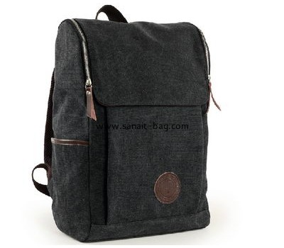 England school style canvas travel backpack for boys MB-058