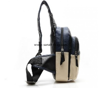 Korean style top quality PU waist bag for men MM-017