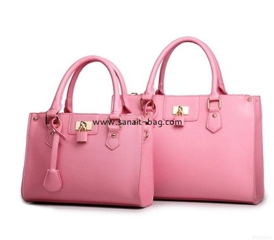 Women PU leather tote bag WT-155