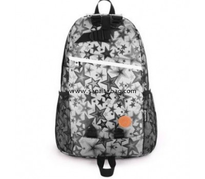 Polyester backpack school bags for girls WB-078