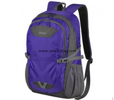 Nylon waterproof large capacity backpack school bag MB-070