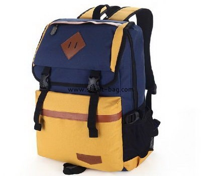 Polyester school bag with computer bag WB-084
