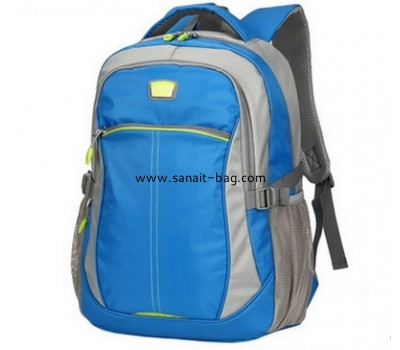 New style polyester blue school bag for young boy MB-079
