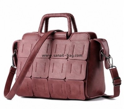 Factory custom design bag pu leather handbag shoulder bag WT-243