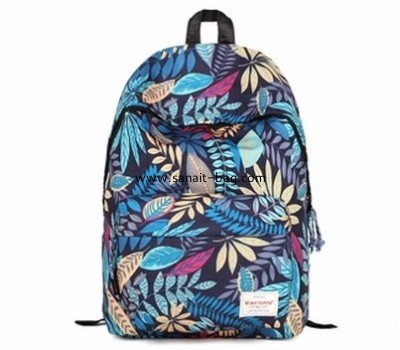 Custom design backpack teenage nylon bag backpack school bag WB-119