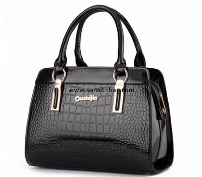 Customized pu hand bag crocodile leather bag ladys bag handbags fashion WT-267