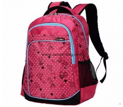 Bag factory china custom fashion cheap polyester backpacks WB-146