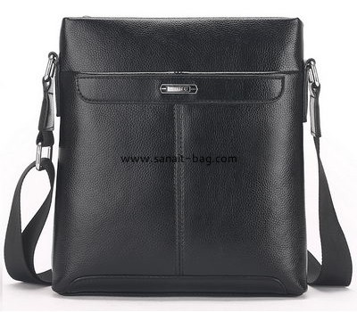 Handbag manufacturing companies customize polyurethane men leather bags MT-150