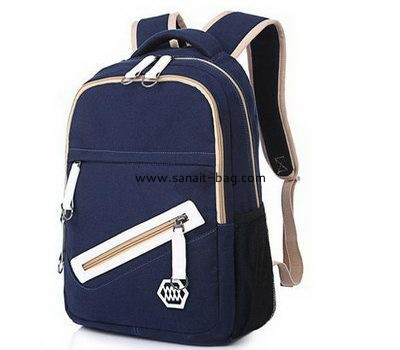 Factory canvas bag wholesale school bag new models canvas backpack MB-100