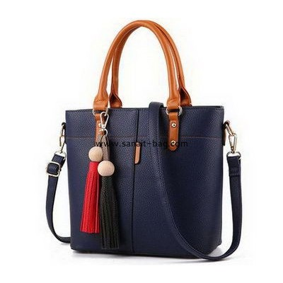Manufacturer of handbags customize pu leather handbags shoulder bags for women WT-354