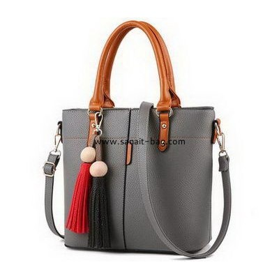 Leather handbag manufacturers customize pu material bag designer handbags for cheap WT-353